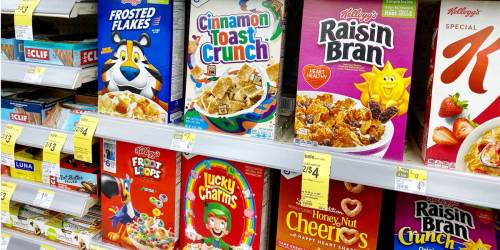 Kellogg's Cereal as Low as $1.40 Each at Walgreens