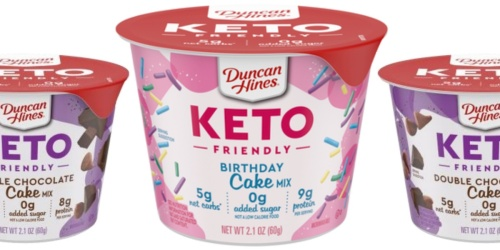 Duncan Hines Is Releasing Microwavable Keto Cake Cups
