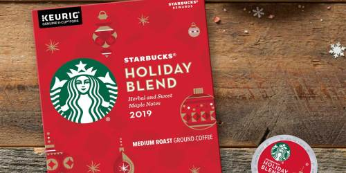 Starbucks Holiday Blend K-Cups 22-Count Just $7 at Walmart (Regularly $15) | Only 33¢ Per K-Cup