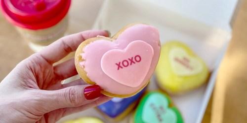 Free Krispy Kreme Conversation Heart Doughnut | January 28th Only