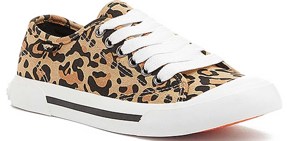 stock image Rocket Dog Natural Leopard Jumpin Sneaker