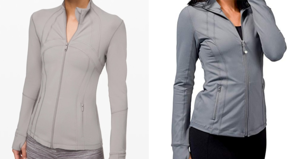 lululemon define jacket compared to 90 degree jacket
