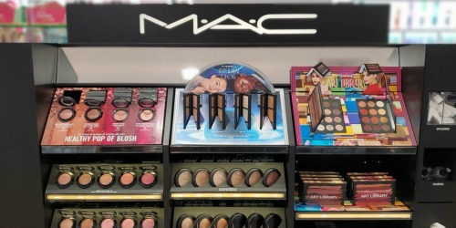 $25 Off $75 MAC Cosmetics Purchase + Free Lipstick ($19 Value) & Free Shipping