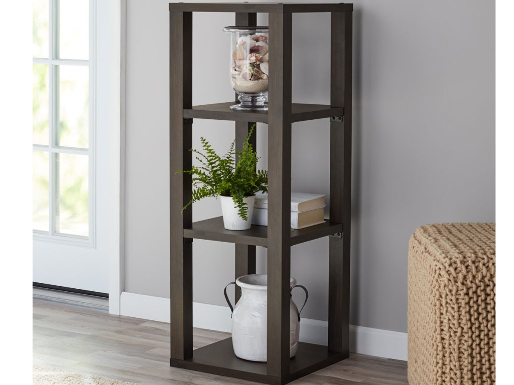 Mainstays Parsons 3-Cube Book Case