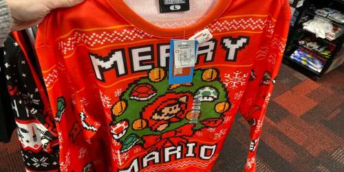 Over 85% Off Holiday Clearance at GameStop | Sweaters $3.98, Ornament Sets $2.38