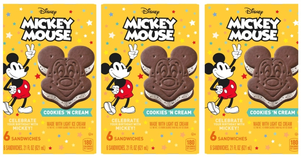 Image result for mickey cookies n cream sandwich