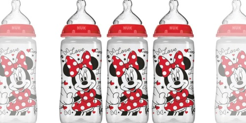 NUK Disney Minnie Mouse Baby Bottles 3-Pack Only $11 at Amazon (Regularly $20)