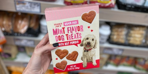 Trader Joe's Is Selling Heart-Shaped Dog Treats for Valentine's Day