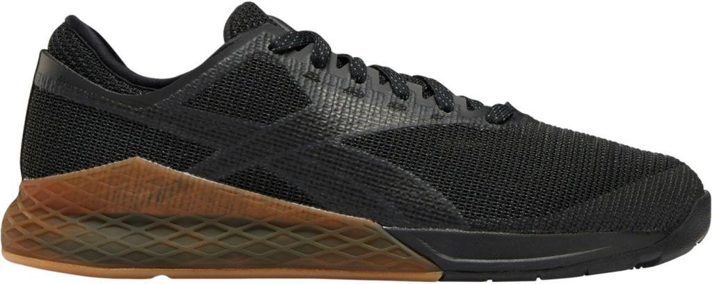 stock image of Reebok Men's Nano 9 Training Shoes in black