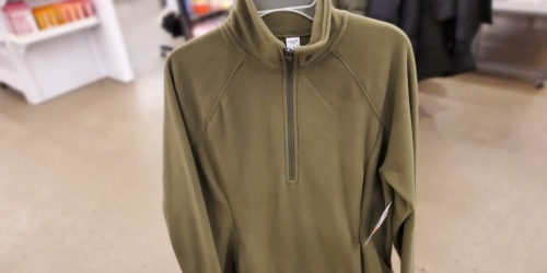 Old Navy Women's Micro Performance Fleece Zip Jackets Only $8 (Regularly $29)