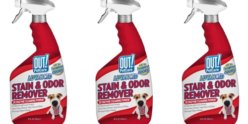 OUT! PetCare Advanced Stain & Odor Remover Only $1.42 Shipped on Amazon