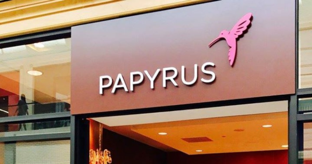 Papyrus storefront