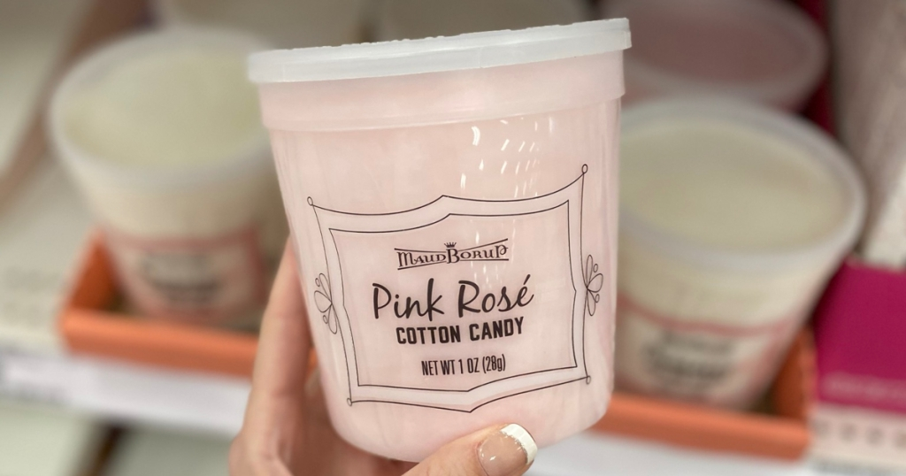 Pink Rose wine-infused cotton candy at Target