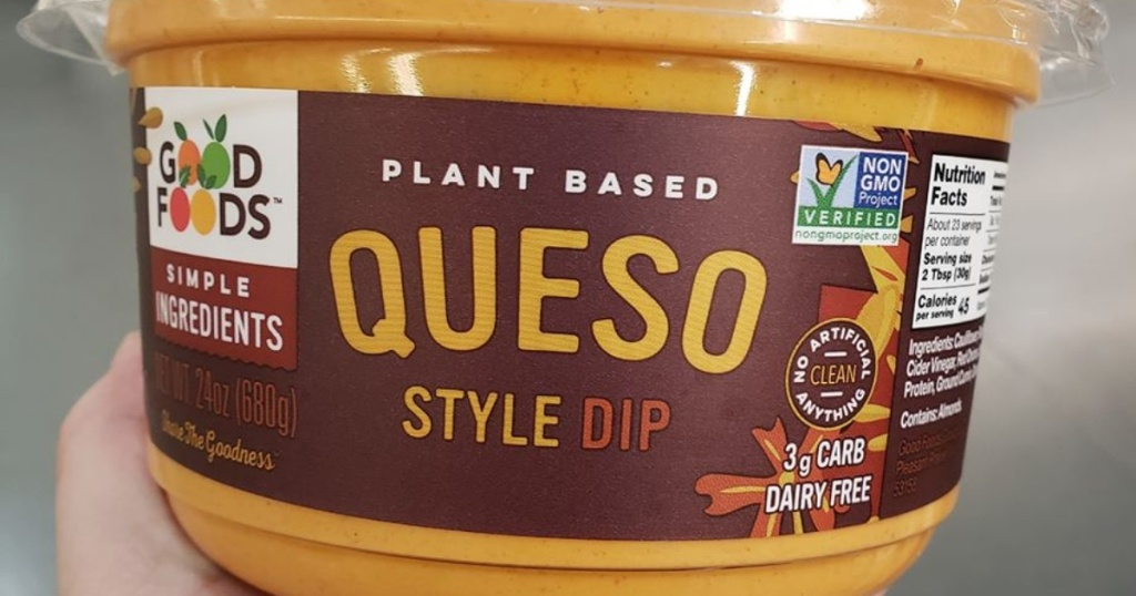 Good Foods Plant-Based Queso