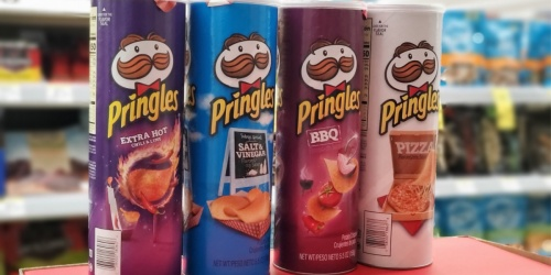 Pringles Chips Only $1 Per Can at Walgreens
