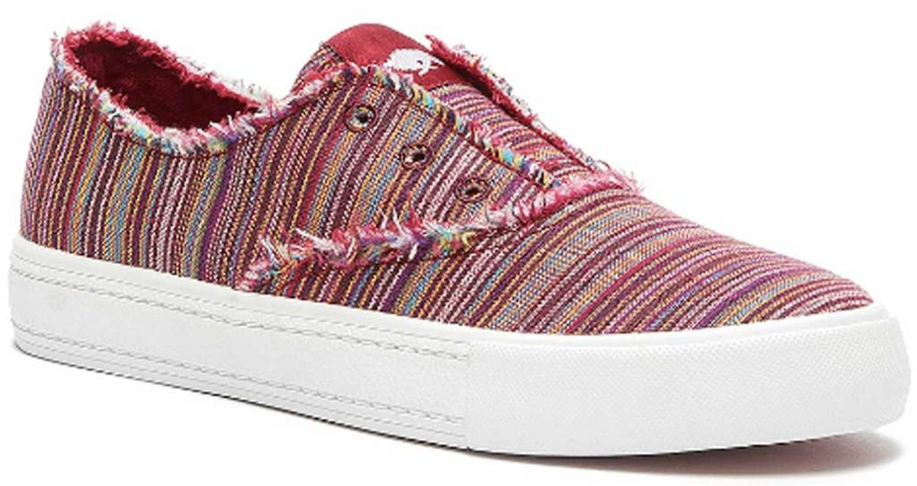 Rocket Dog Red Stripe Afina Slip-on Sneaker