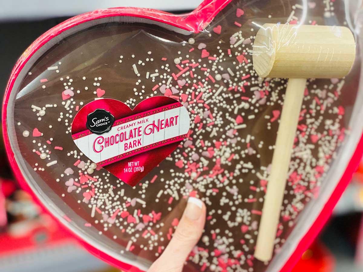 Sam S Choice Heartbreaker Chocolate Heart Bark Mallet Set At Walmart