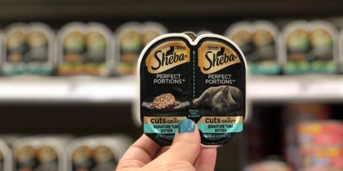 New Buy 1, Get 1 FREE Sheba Cat Food Coupon | Just 36¢ Each at Walmart