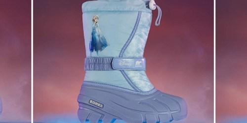 Sorel Disney Kids Frozen 2 Waterproof Boots Only $29.98 at Dick's Sporting Goods (Regularly $65)