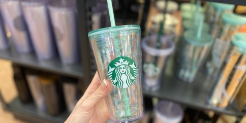 Starbucks Shiny New Mermaid Tumblers and Mugs Are Here for Limited Time