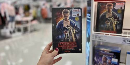 Stranger Things Season 1 Collector's Edition DVD + Blu-ray Just $5 at Target