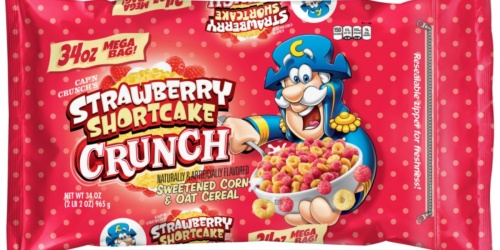 Strawberry Shortcake Cap'n Crunch Is Now Available at Walmart!