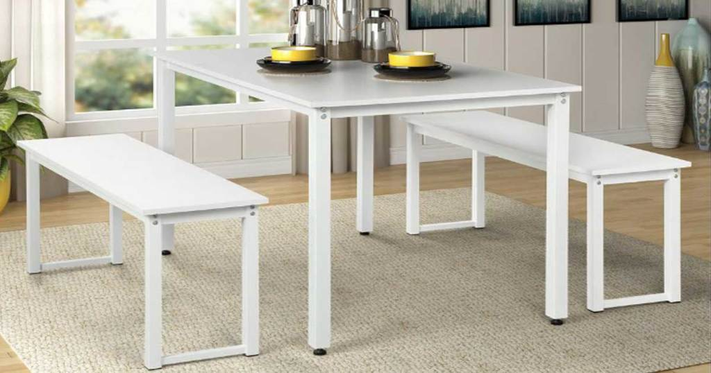 Dining Table 3-Piece Set Just $122.99 Shipped at Home Depot ...
