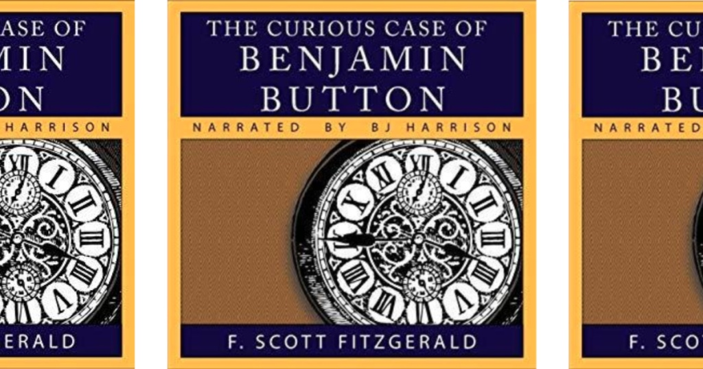 the curious case of benjamin button book cover