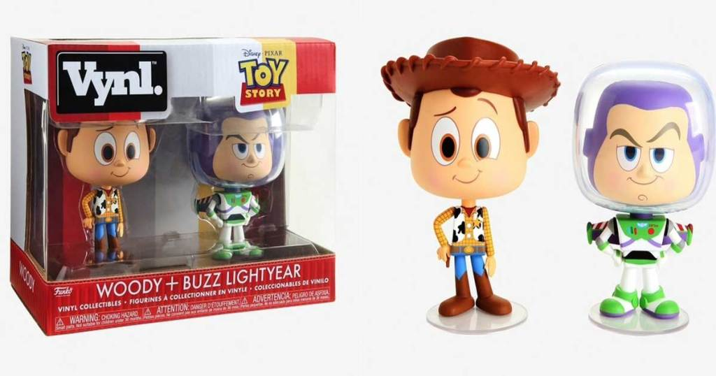 Funko VNYL Disney Woody and Buzz Lightyear 2-pack set