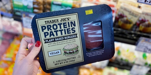 Trader Joe's Launches Its Own Plant-Based Vegan Protein Patties