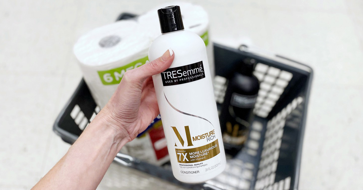 tresemme with shopping basket walgreens