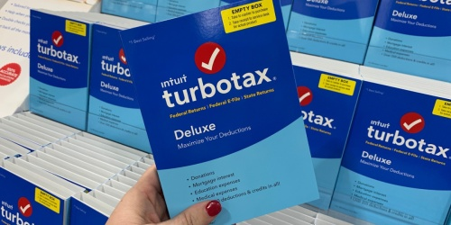 TurboTax Deluxe 2020 Tax Software Only $34.99 (Regularly $60) | PC or MAC Download