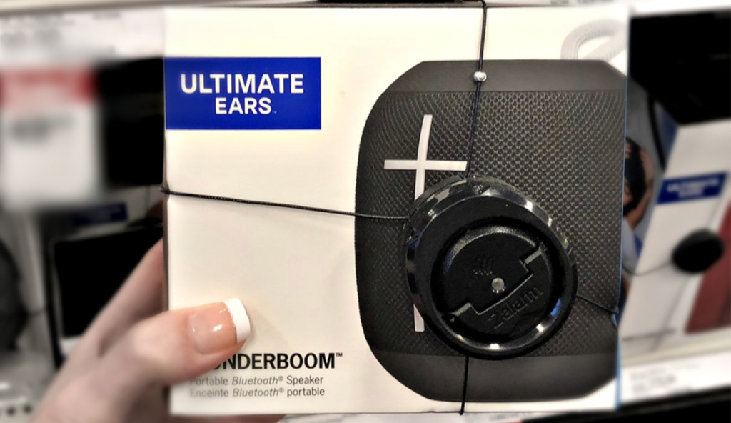 ultimate ears wonderboom speaker