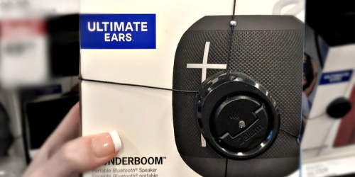 Ultimate Ears WonderBoom Portable Bluetooth Speaker Only $39.99 Shipped at Best Buy (Regularly $100)