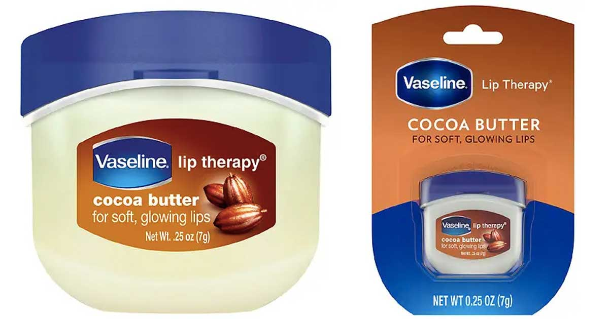 vaseline lip therapy coconut butter minis