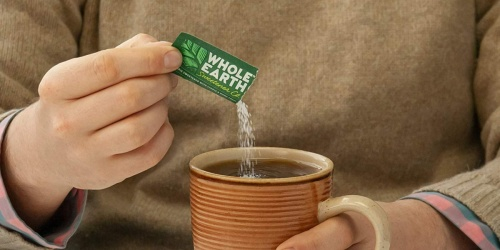 Whole Earth Sweetener 400-Count Packets Just $12.82 Shipped at Amazon