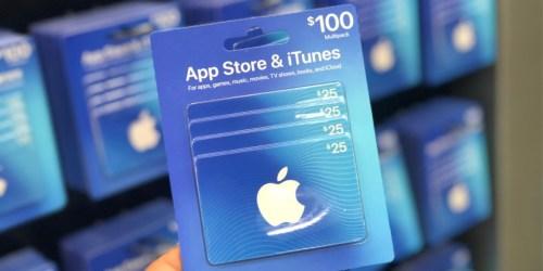 Free $15 Target eGift Card w/ $100 iTunes eGift Card Purchase