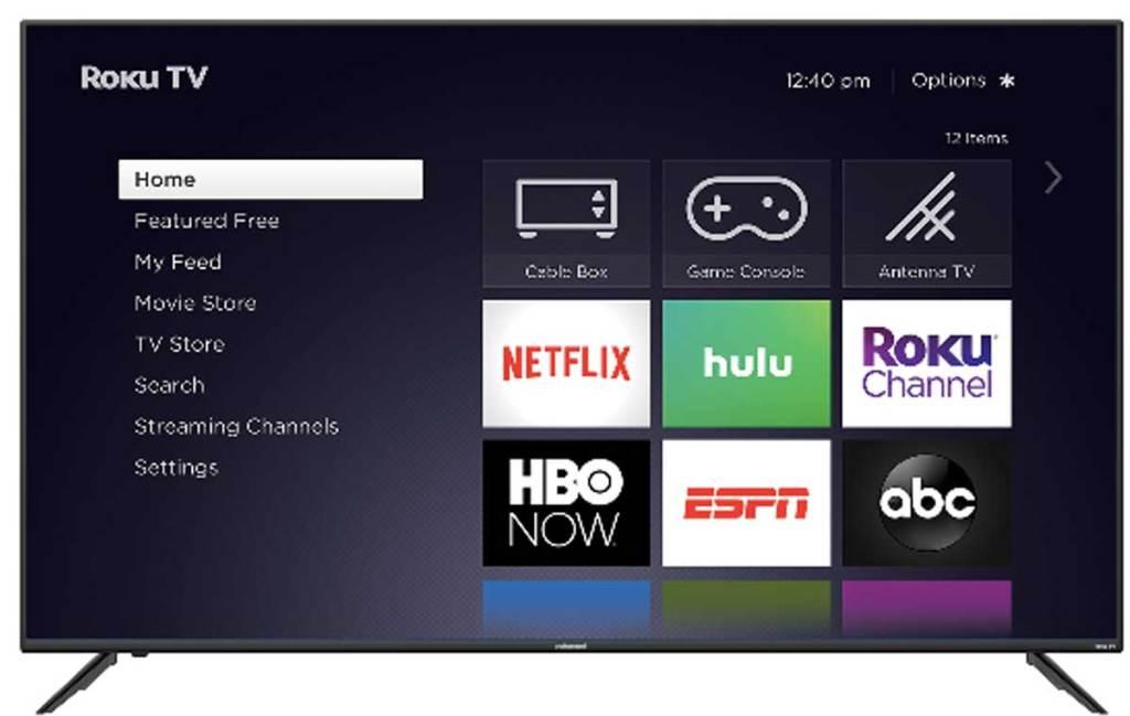 Element 70″ Series 4K ROKU Smart LED TV