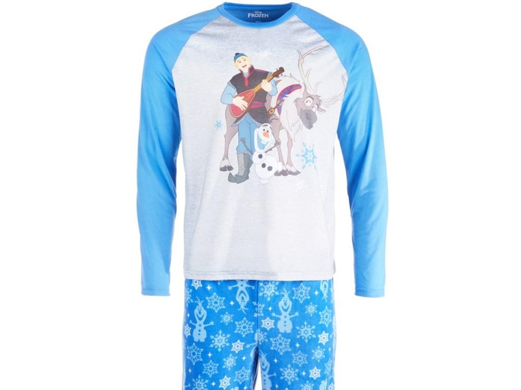 Men's Disney movie pajama set