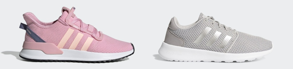 Adidas Shoes for women in pink and grey