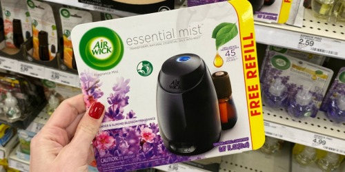 $3 Worth of Air Wick Essential Mist Products Printable Coupons