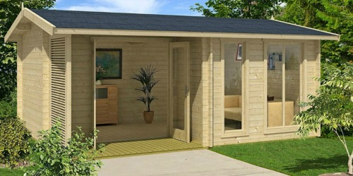 Amazon Sells a DIY Backyard Guest House with Free Delivery