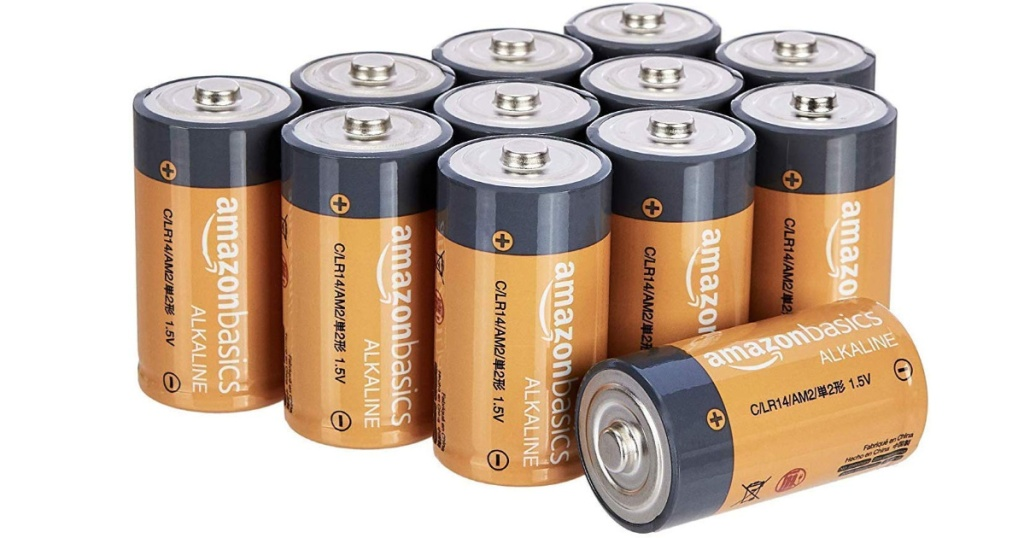 AmazonBasics C Batteries
