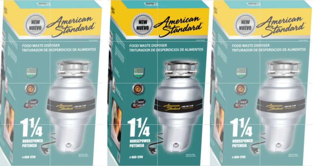 American Standard Food Waste Disposer Only 69 99 At