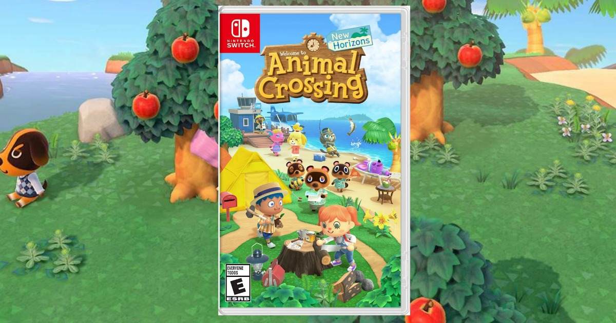 Animal Crossing New Horizons Nintendo Switch Game Only 49 94