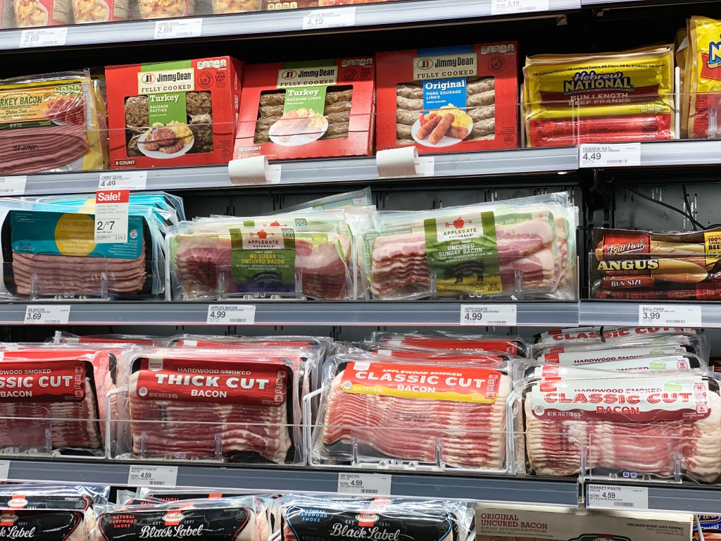 Applegate Bacon on Target shelf