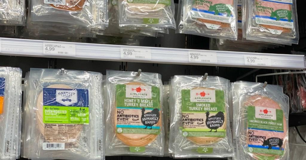 Applegate Lunchmeats on Target shelf
