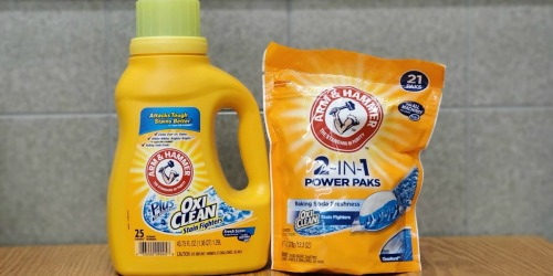 NEW Arm & Hammer Coupons = Laundry Detergent Only $1.99 at Rite Aid