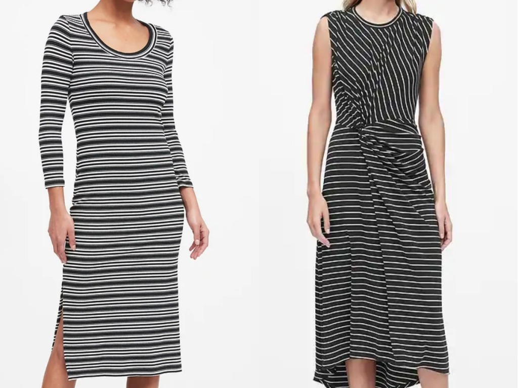 women modeling Banana Republic Women's Dresses