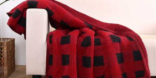 Better Homes & Gardens Sherpa Throw Only $5 at Walmart